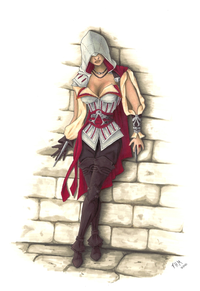 Female Assassin By Tinparrot On Deviantart