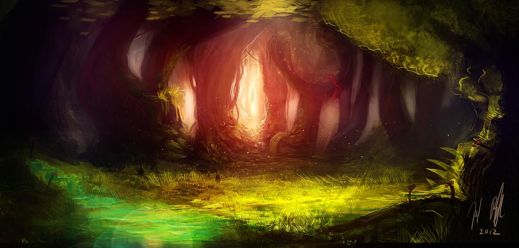 Forest by Jalapenostark