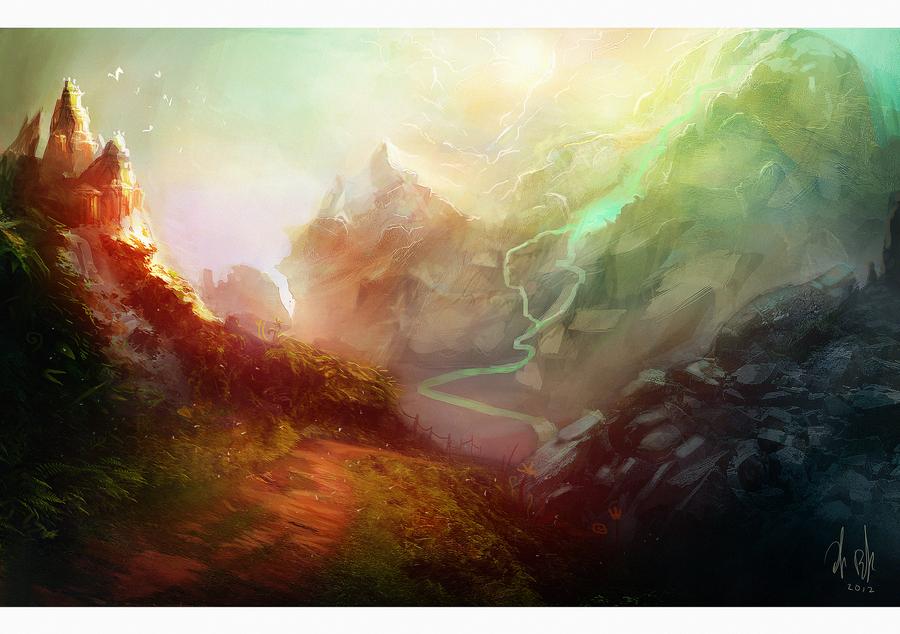 Mountain by Jalapenostark
