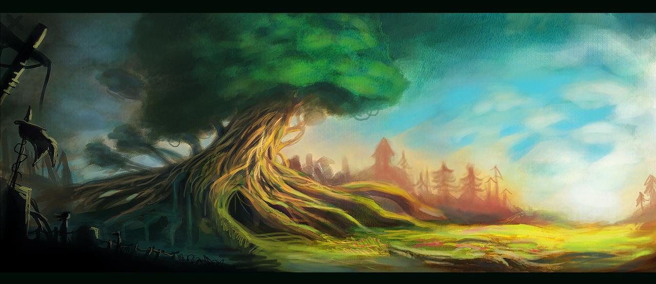Yggdrasil Art Yggdrasil by Jalapenos...