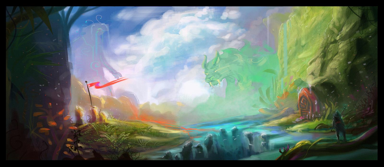 God's Departure by Jalapenostark
