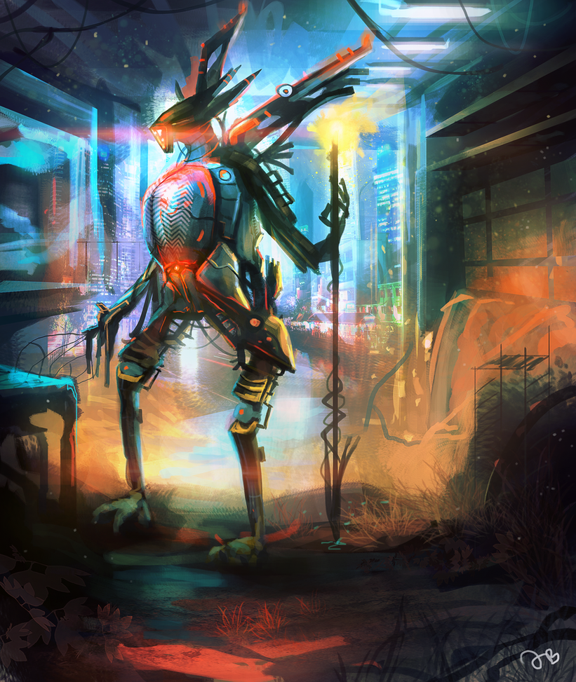 Robot Concept by Jalapenostark