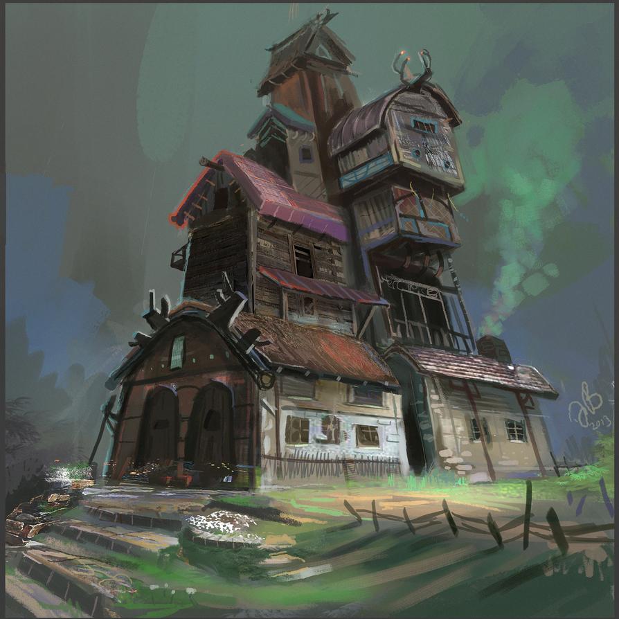 Tavern or Inn? by Jalapenostark