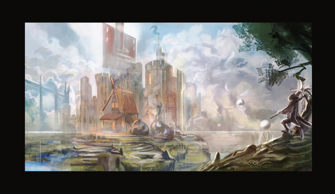 Another Castle... by Jalapenostark