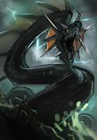 The World Serpent Spitpaint