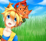 CE-Meko and Urime by maiSakura95
