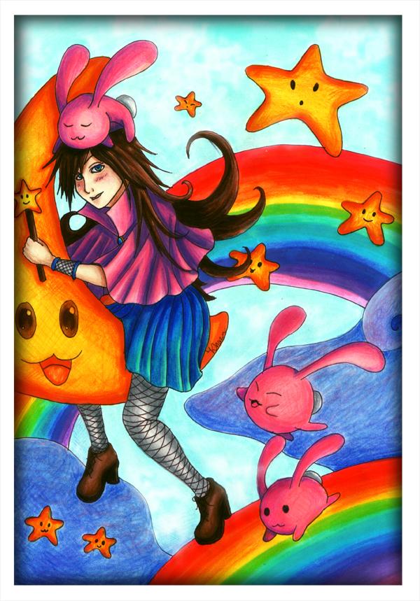 Rabbit Witch by Khazaa