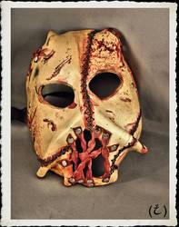 Leather mask * Flayed *
