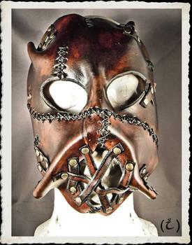Leather mask * Wild *