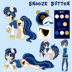 Snooze Button Reference by fannytastical