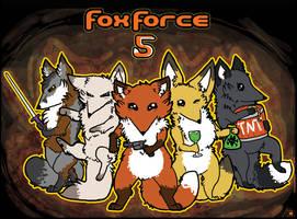 Fox Force 5 by Nightlinez