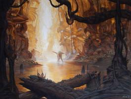 Riverscene II by ahaas