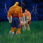 Sagat Vs Ryu