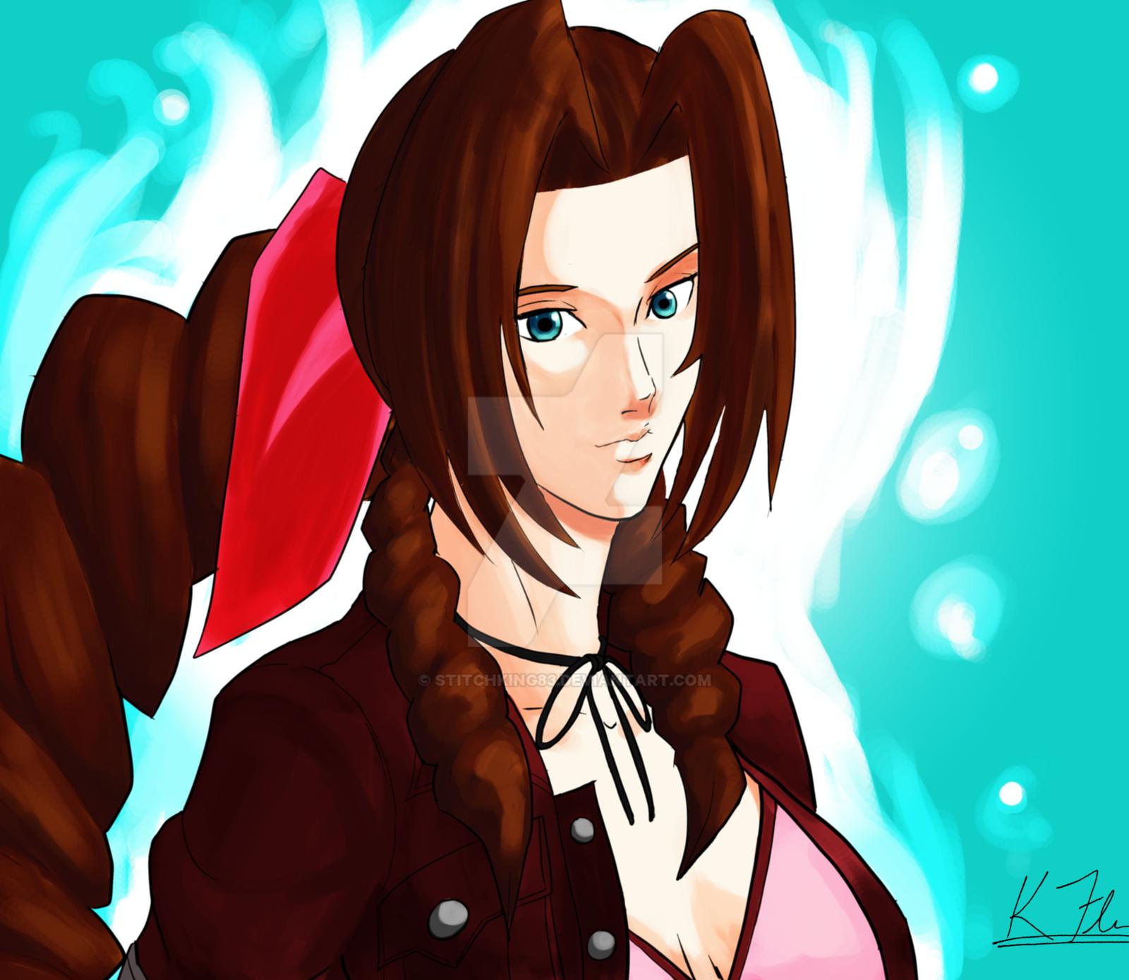 Aerith/Aeris from Kingdom Hearts 2   Fashion, Women