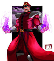 M. Bison Psycho Power by Stitchking83