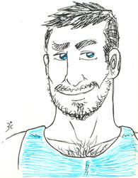 cute dude in blue by brunocampelo79