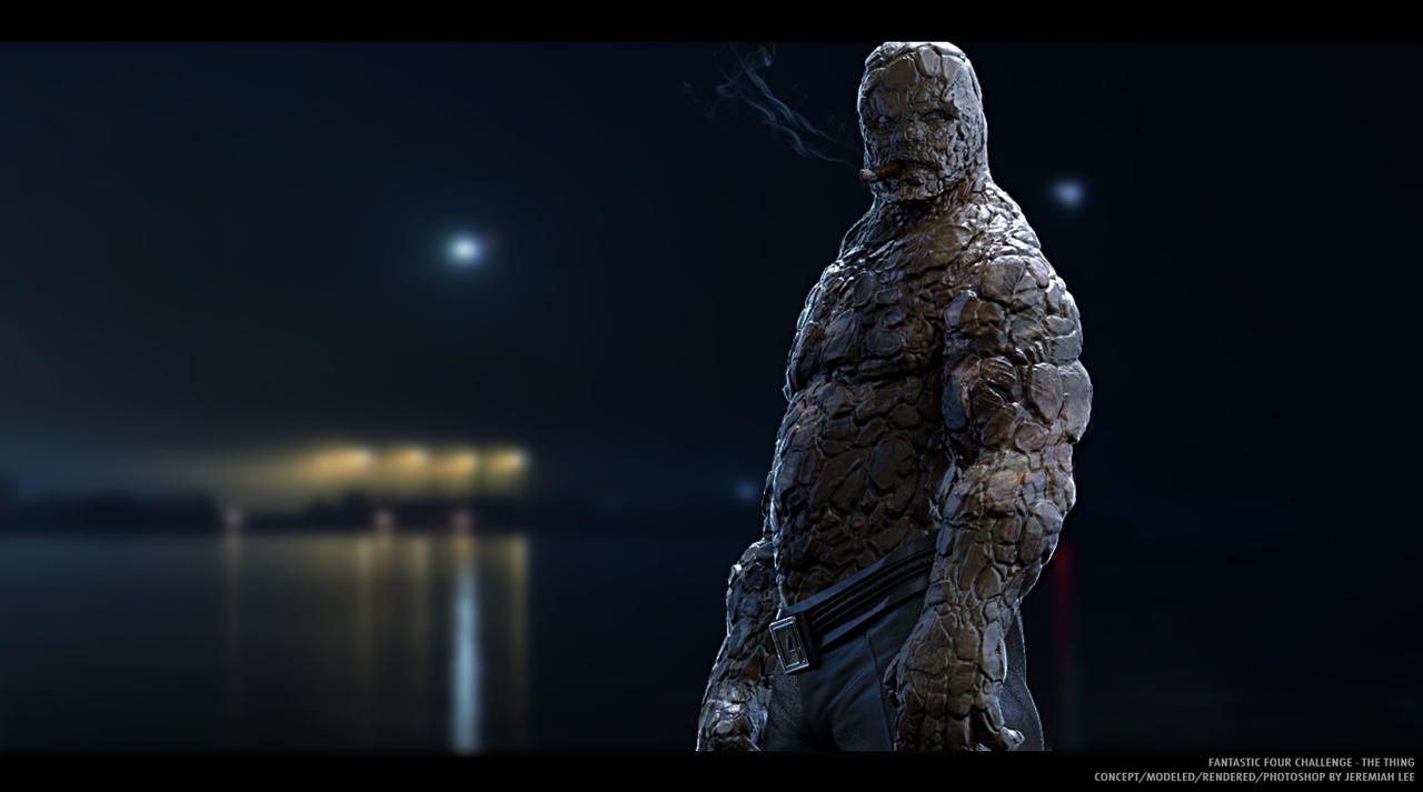 Fantastic Four Challenge - The Thing by jeremiahconcept on ...