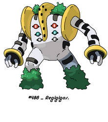 The Appearance of Regigigas
