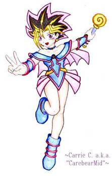 Chibi Yugi as a Girl