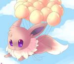 Flying Eevee
