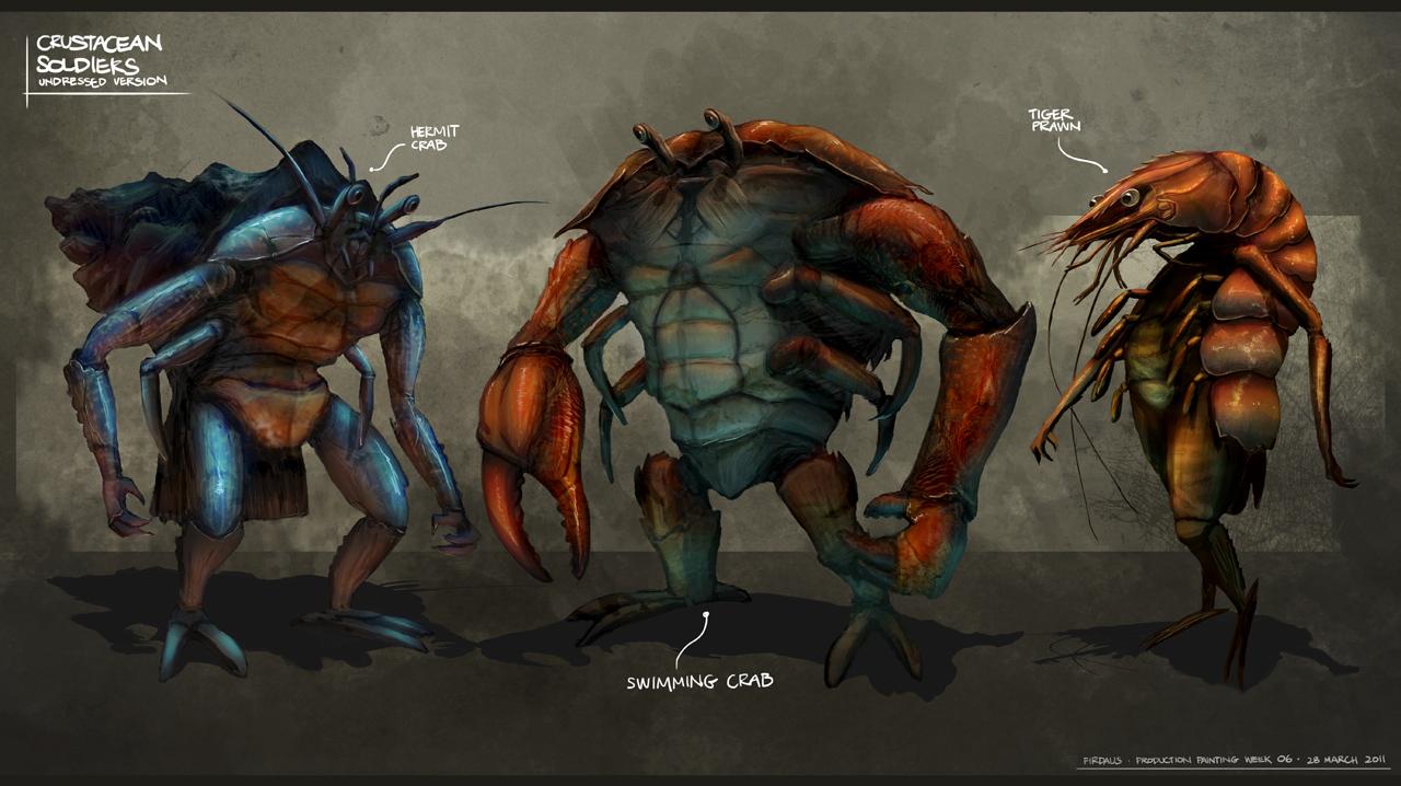 Crab Humanoid Concept by GCRev on DeviantArt