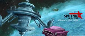 Sputnik Industries - Intergalactic Petrol Station