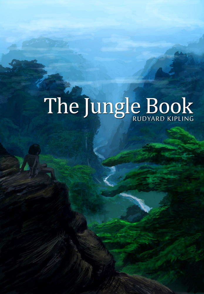 The Jungle Book Cover Art : Book cover the jungle by freakyfir on deviantart