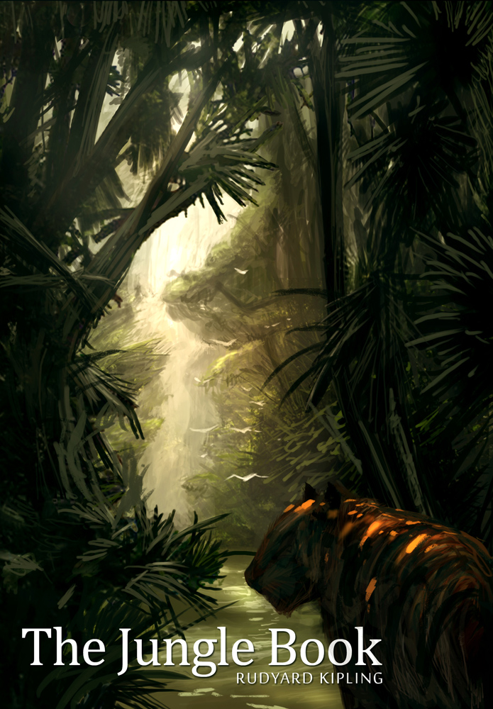 Jungle Book Cover Art : Book cover the jungle by freakyfir on deviantart