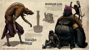 The Jungle Book - Tabaqui + Bandar-Log