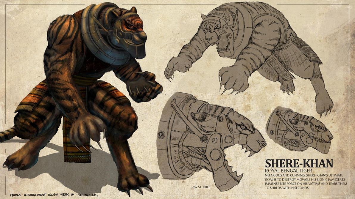 The Jungle Book - Shere-Khan by freakyfir
