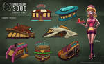 Space Colony 3000 - Diner Designs