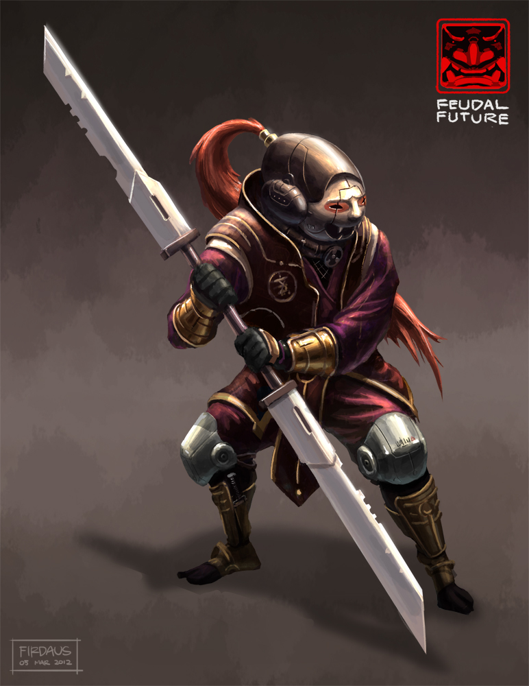 Feudal Future - Imperial Guard by freakyfir