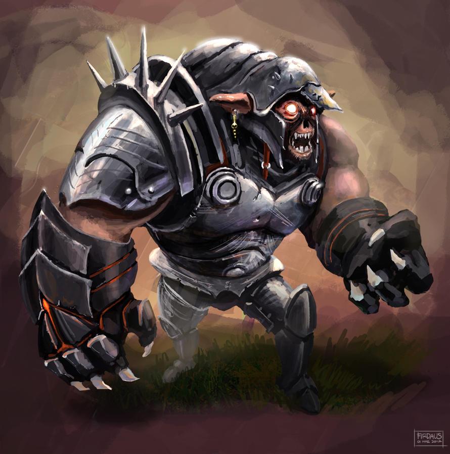 Orc Grunt by freakyfir