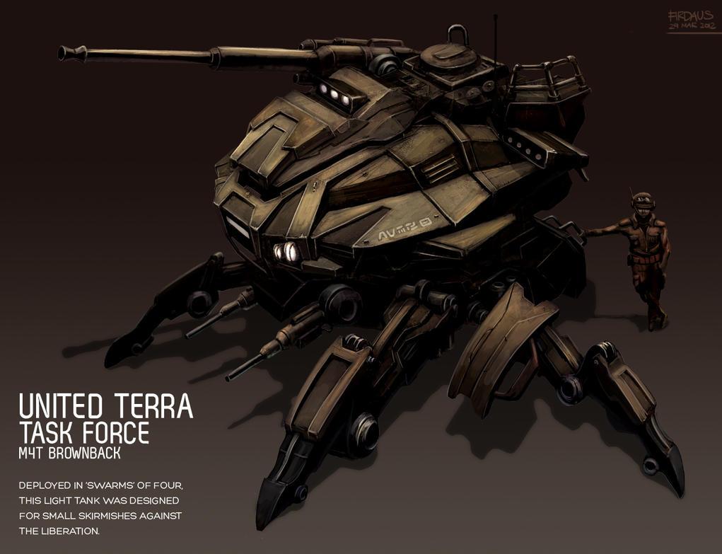 M4T Brownback by freakyfir