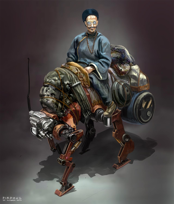 Beast of Burden by freakyfir