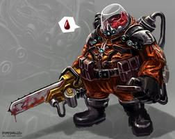 Blood Harvester by freakyfir