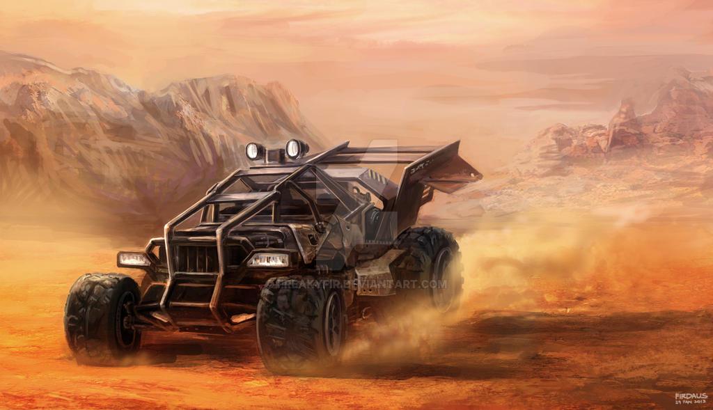 Junk Desert Buggy by freakyfir