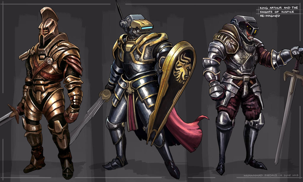 King Arthur And The Knights Of Justice By Freakyfir On