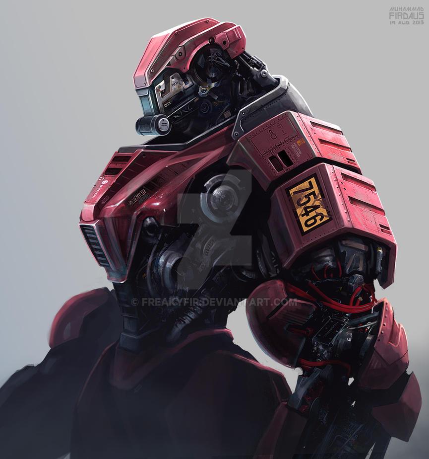 Robot 7546 - Reventlov by freakyfir