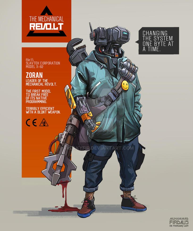 Mechanical Revolt - Zoran by freakyfir