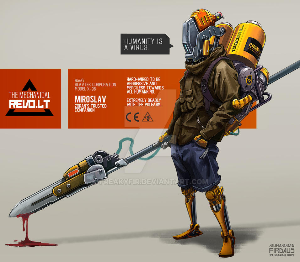 Mechanical Revolt - Miroslav by freakyfir
