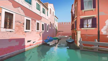 Fondamenta del Cristo - Venezia, Italy by freakyfir