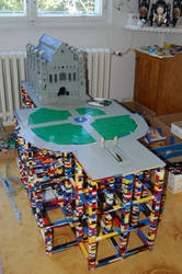 Lego Castle - Minas Tirith by Chairudo