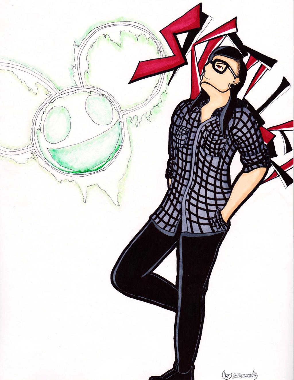 Skrillex/Deadmau5 Commission by kohakufire on DeviantArt