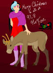 Merry Christmas 91.8 The Fan by random-person101