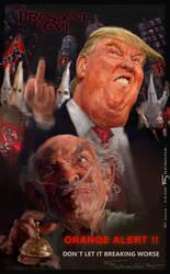 ORANGE ALERT! - Donald Trump