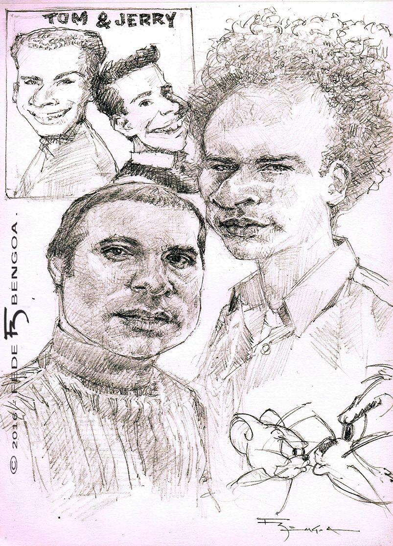 Simon and  Garfunkel by FedeBengoa