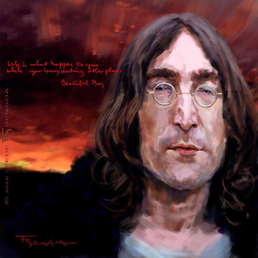John Lennon by FedeBengoa