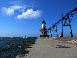 St. Joseph Inner Lighthouse by Foozma73