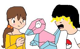 Pokemon OCs Anna And Jackson by sams-adopts